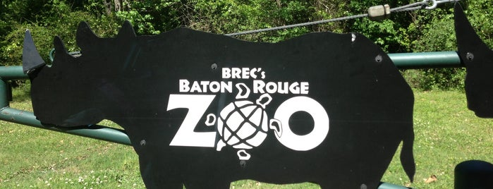 Baton Rouge Zoo is one of Historian.