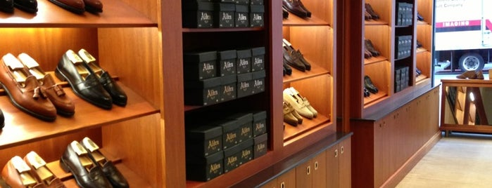 Alden New England Shoes is one of Men's shoe stores.
