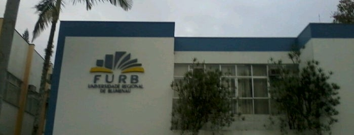 FURB - Universidade Regional de Blumenau is one of prefers.