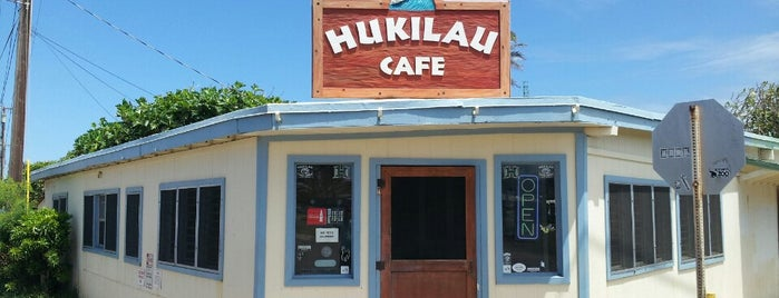 Hukilau Cafe is one of Hawaii.