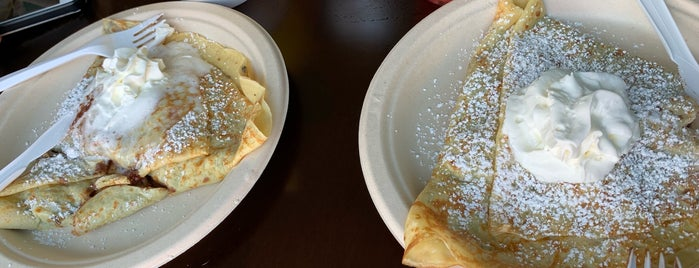 Cloud 9 Crepes is one of Brooklyn Hotspots.