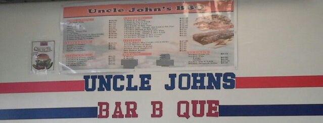 Uncle John's BBQ is one of Unofficial LTHForum Great Neighborhood Restaurants.