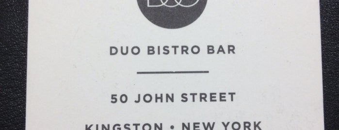 Duo Bistro is one of Kingston.