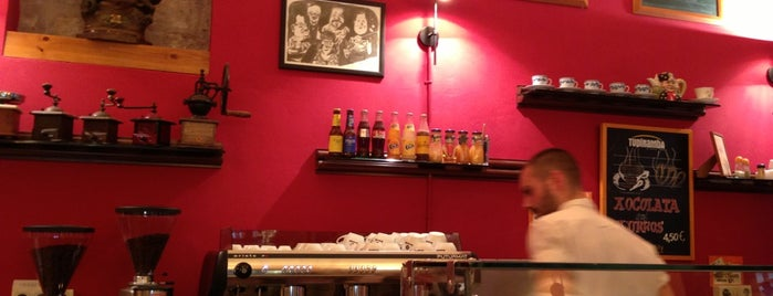 Tupinamba Cafes is one of Barcelona.