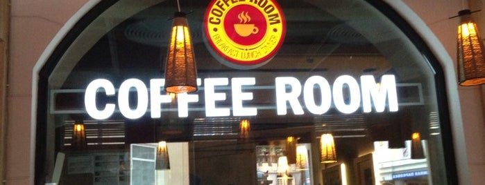 Coffee Room is one of Restaurants and cafes.