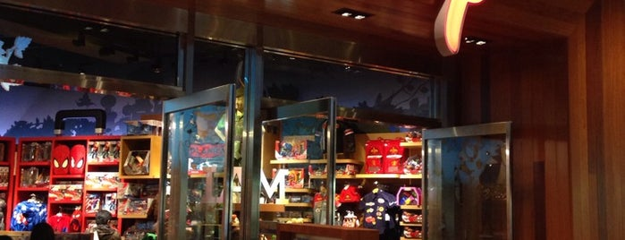Disney Store is one of LA.