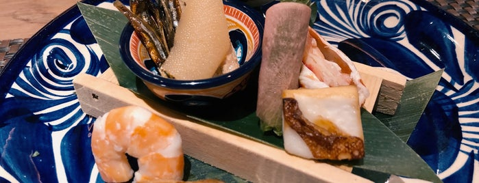 ASAI Kaiseki Cuisine is one of Jerome.