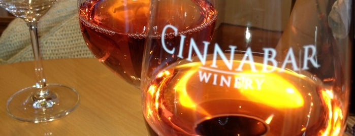 Cinnabar Wine Tasting Room is one of Lieux sauvegardés par Ajay.