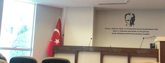 Edirne Ticaret ve Sanayi Odası is one of Locais salvos de İsmail Vedat.