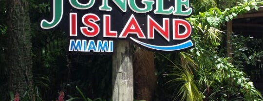 Jungle Island is one of My trip to Florida.