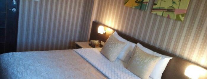 喜星經典旅館 LuckyNews Hotel is one of Orte, die Rani gefallen.