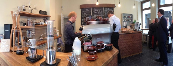 Alchemy is one of Specialty Coffee Shops (London).