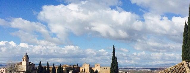 Palacio del Generalife is one of Granada.