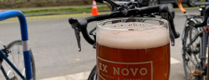 Ex Novo Brewing is one of Portland.
