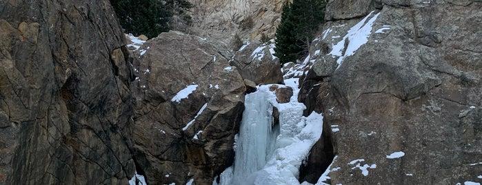 Boulder Falls is one of Colorado Adventures.