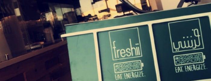 Freshii is one of Eastern province, KSA.
