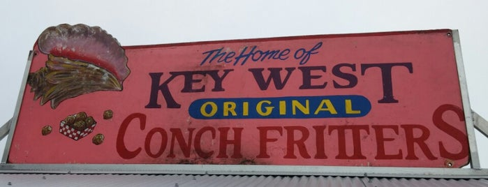 Key West Original Conch Fritters is one of Tempat yang Disukai Ico.