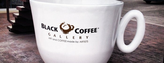 Black Coffee Gallery by Yuri Zatarain is one of Coffee Break.