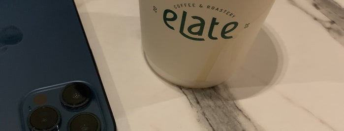 eLate Coffee is one of Queen 님이 저장한 장소.