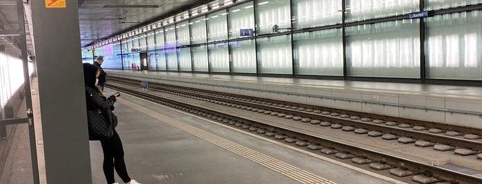 Gare de Lancy-Bachet is one of Stations, gares et aéroports.