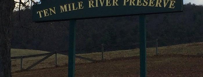 Ten Mile River Preserve is one of Tempat yang Disukai Bridget.