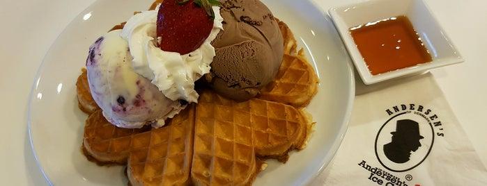 Anderson's Ice Cream is one of Lugares favoritos de Ben.