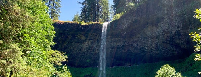 Silver Falls State Park is one of Portland.