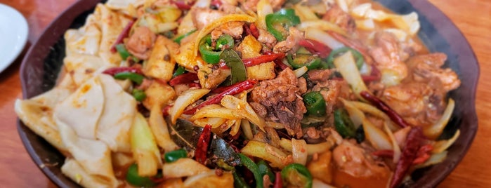 Qin Xi'an Noodles is one of Seattle favorites.