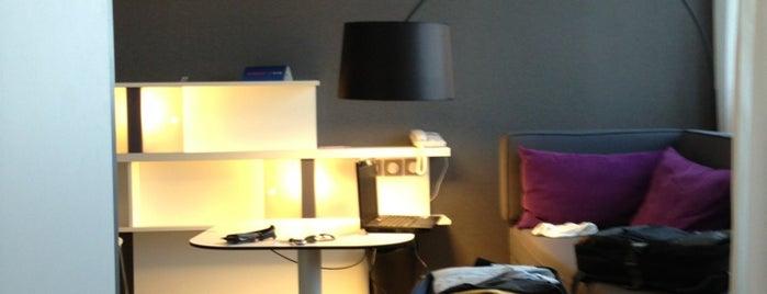 Suite Novotel Luxembourg is one of Lieux qui ont plu à Ozgun.