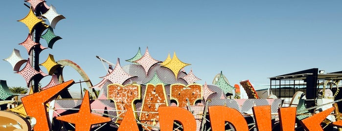 The Neon Museum is one of T+L's Definitive Guide to Las Vegas.