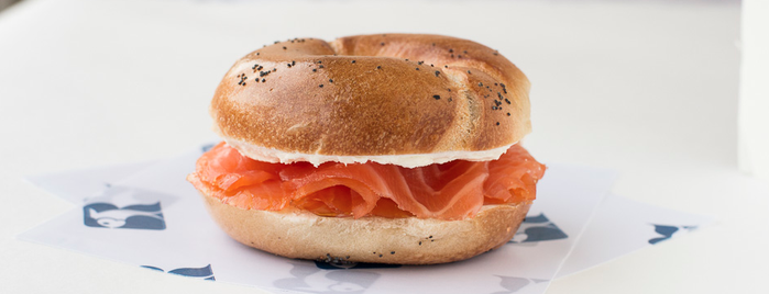 Russ & Daughters is one of Wellesley Foodies in NYC.