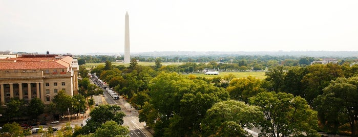 W Hotel - Washington D.C. is one of T+L's Definitive Guide to Washington D.C..