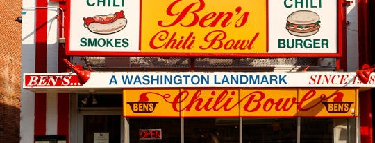 Ben's Chili Bowl is one of DC.
