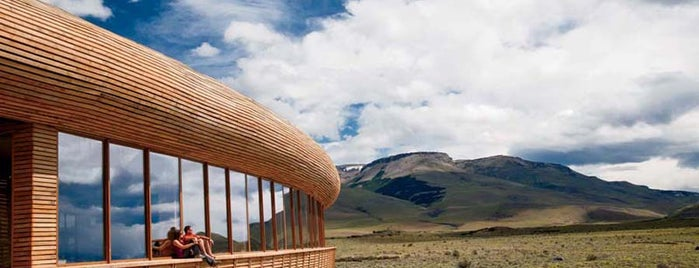Hotel Tierra Patagonia is one of South America.