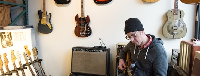 Blackbook Guitars is one of T+L's Definitive Guide to Portland.