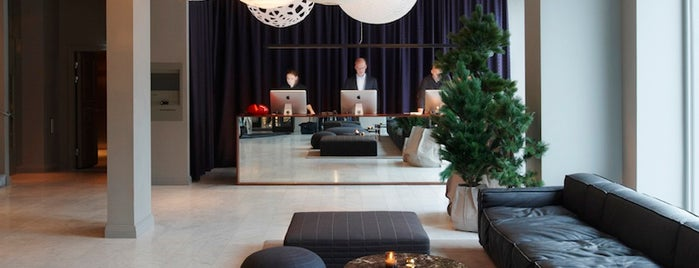 Nobis Hotel is one of T+L's Definitive Guide to Stockholm.