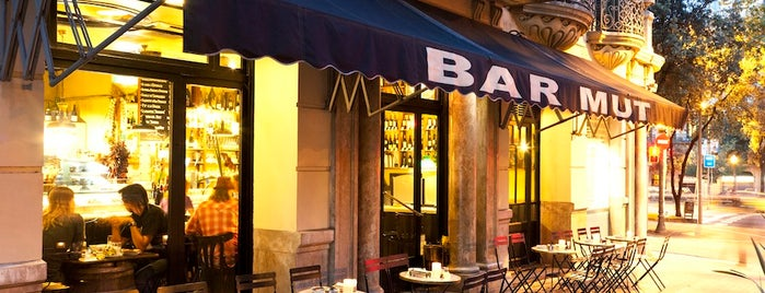 Bar Mut is one of T+L's Definitive Guide to Barcelona.