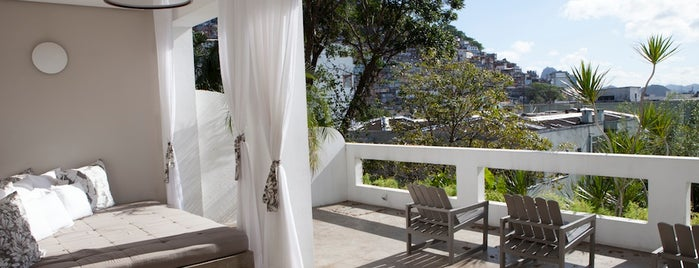 Casa Mosquito is one of T+L's Definitive Guide to Rio de Janeiro.