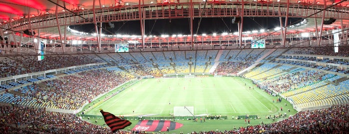 Stade Maracanã is one of T+L's Definitive Guide to Rio de Janeiro.