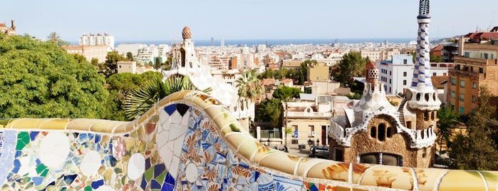 Park Güell is one of Beautiful places.
