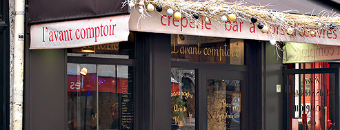 L'Avant Comptoir is one of T+L's Guide to Eating Like a Local.