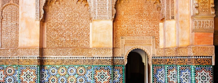 Medersa Ben Youssef is one of The world outside of NY and London pt. 2.