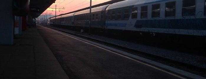 Železniška postaja Ljubljana is one of Follow the Orient Express — Şark Ekspresi.