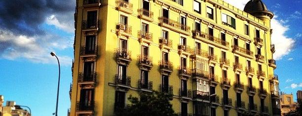 Calle de Goya is one of Madrid.