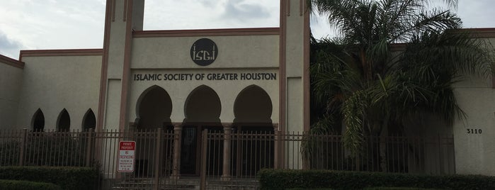 Islamic Society Of Greater Houston ISGH is one of Locais curtidos por Abdulaziz.