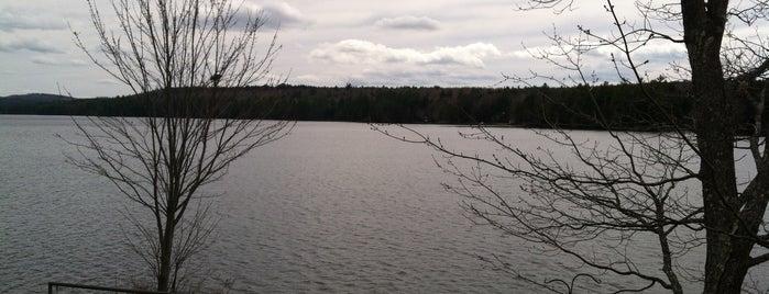 Woods Pond Bridgton Maine is one of Locais salvos de David.
