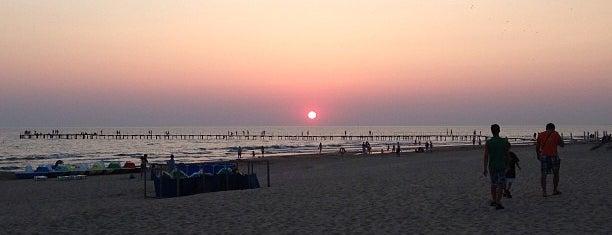 Белый пляж is one of สถานที่ที่ Георгий ถูกใจ.