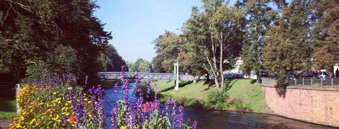 Benckiserbrücke is one of Die ultimative Brückenliste Pforzheims.