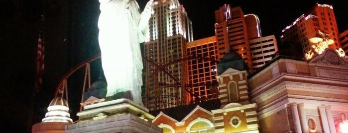 New York-New York Hotel & Casino is one of USA Trip 2013 - The Desert.