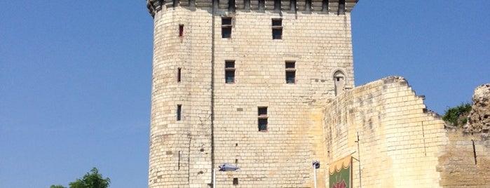 Château de Chinon is one of Châteaux de la Loire.